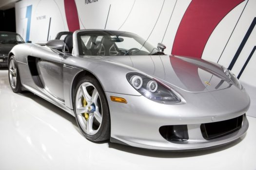 Toronto Auto Show CIAS 2018, 70 Years of Porsche - The Porsche Carrera GT is known for its sweet sounding 5.7L V10 engine. Arguably one of the best sounding exhaust note of all time!