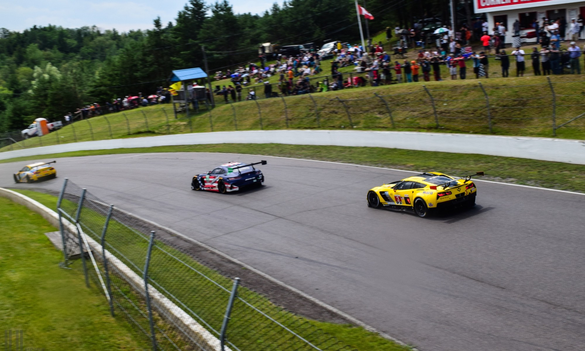 Corvette Racing at the IMSA Mobil 1 SportsCar Grand Prix, featuring a hot lap around CTMP with legendary Corvette Racing driver Ron Fellows in a 650 hp C7 Corvette Z06!