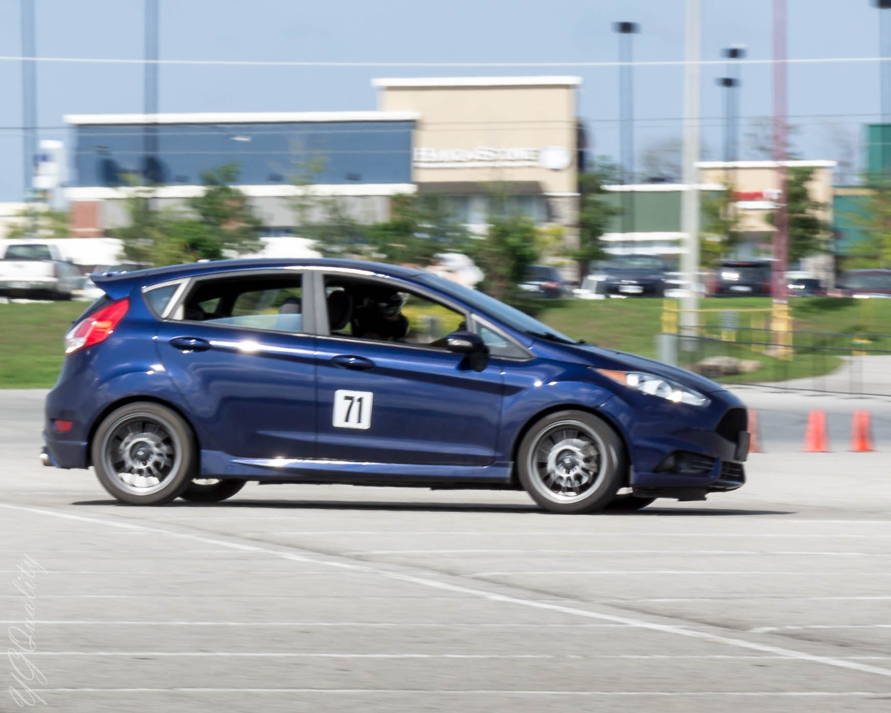 Ford Fiesta ST Autocross - BC Racing Coilovers Handling Test