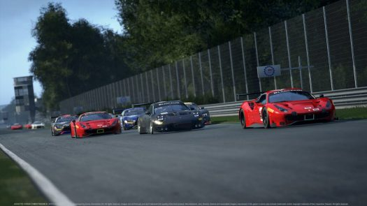 Assetto Corsa Competizione will feature a full roster of GT3 racecars from the Blancpain GT Series.