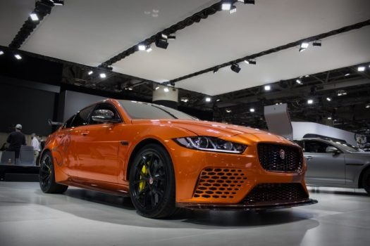 Canadian International Autoshow 2019 - Jaguar XE SV Project 8