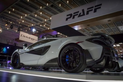 Canadian International Autoshow 2019 - McLaren 600LT is the latest car in the special Longtail Series of supercars.