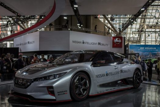 Canadian International Autoshow 2019 - Nissan Leaf NISMO RC Electric Vehicle