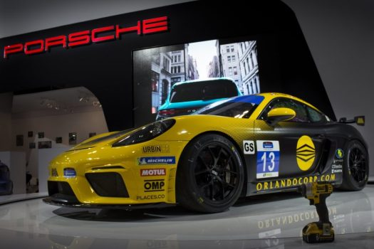 Canadian International Autoshow 2019 - Porsche Cayman GT4 Clubsport