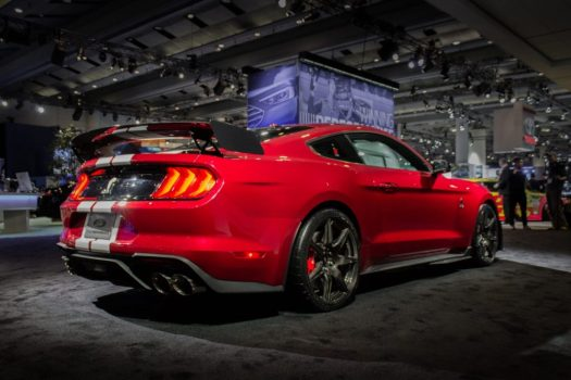 Canadian International Autoshow 2019 - Shelby GT500 carbon fiber wing