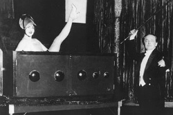 Inside Magic Image of Dorothy Young and Houdini in Radio Girl