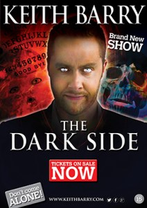 Inside Magic Image of Keith Barry's Poster for The Dark Side