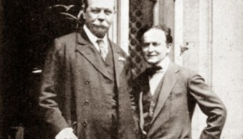 Inside Magic Image of Houdini and Doyle