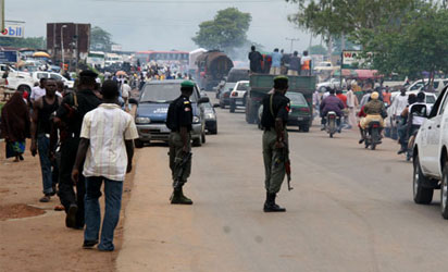 Just In: Commotion in Ketu between transporters and Police