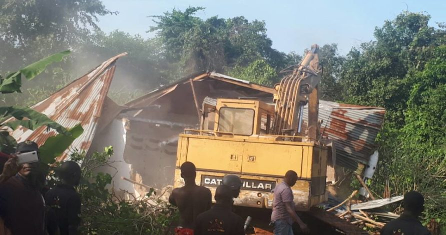 Couple rescued as Police demolish three shrines in Agbowa – Ikorodu