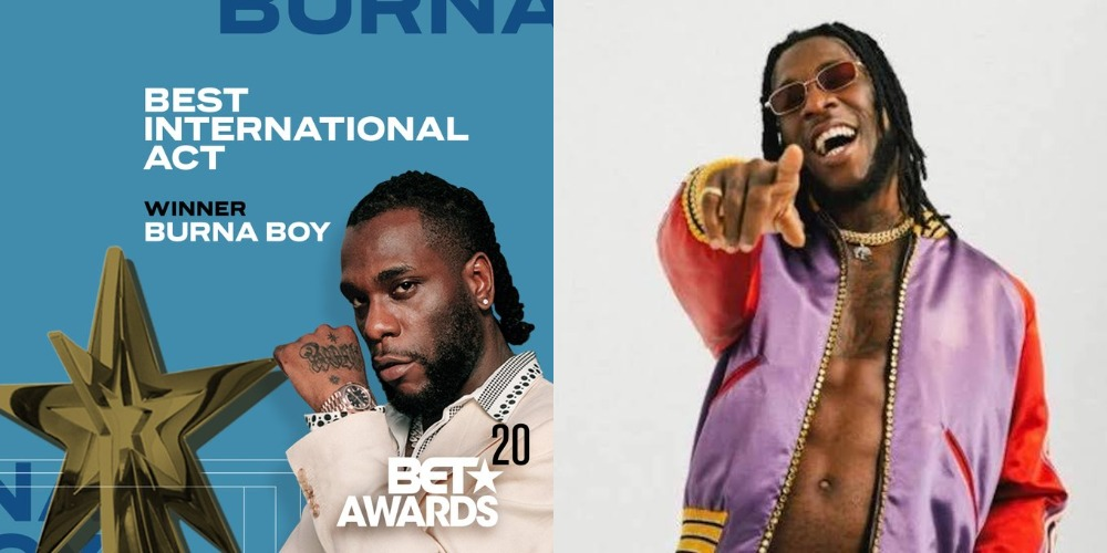 Burnaboy BET Awards