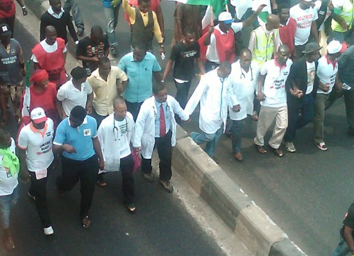 Lagos striking doctors