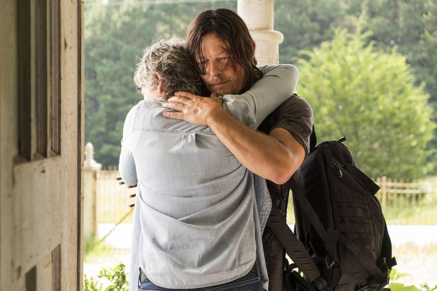 The Walking Dead Season 7 Episode 10 New Best Friends Review Inside Media Track