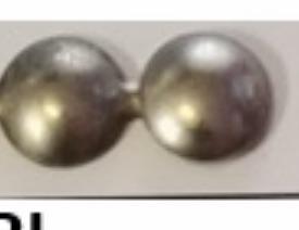 White pearl (=10 mm i diameter)