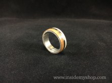 Titanium rosewood,Maple Ring