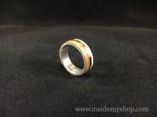 Titanium rosewood,Maple Ring
