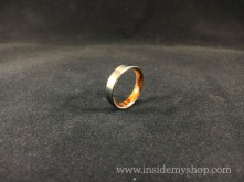 Ironwood & titanium ring