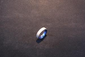 Sandblasted rings