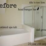The Master Bath Remodel Project Inside Nanabread S Head