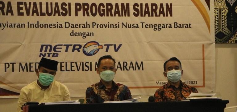 Evaluasi Program Siaran, Pemprov NTB Minta Perbanyak Konten Lokal