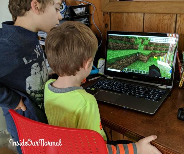 Minecraft Homeschool with Skrafty