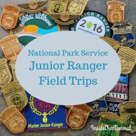 NPS Junior Ranger Field Trips
