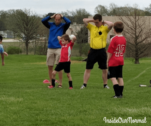 Adaptive Soccer Opportunities - Inside Our Normal