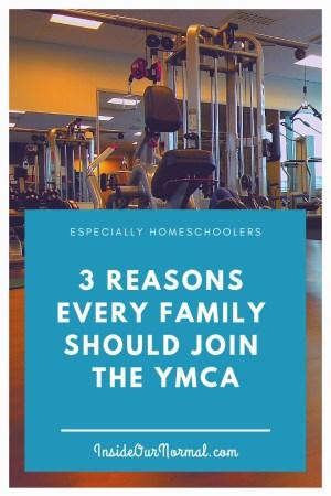 HOmeschoolers Need the YMCA