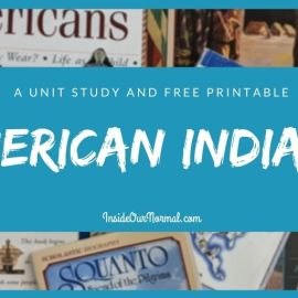 Native Americans: A Unit Study with printable