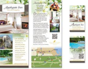 Applegate Inn print design
