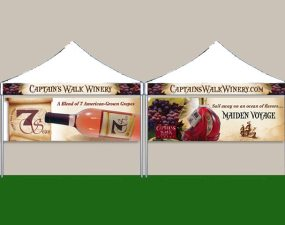 Captain's Walk Winery booth