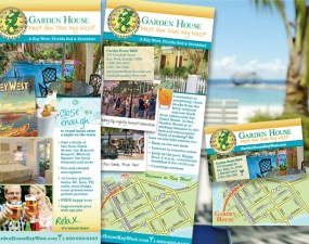 Garden House print marketing