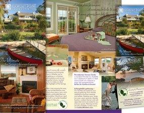 Lookout Point Lakeside Inn - print marketing