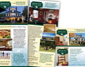 Maine Stay Inn & Cottages - print marketing