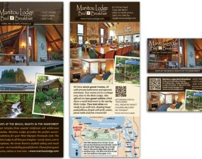 Manitou Lodge Bed and Breakfast - print marketing