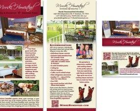 Murski Homestead - print marketing