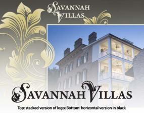 savannah villas logo design
