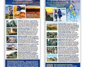 Whidbey Island Bed & Breakfast Association brochure