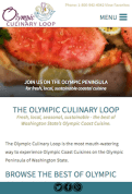 olympicculinaryloop.com new website in mobile resolution