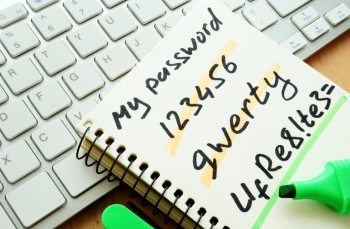 Internet security begins at home with strong passwords