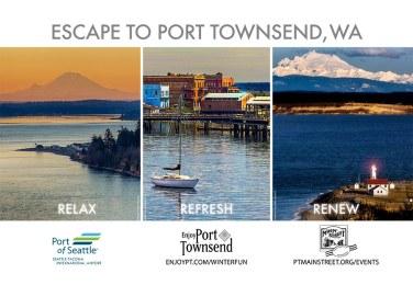 City of Port Townsend SeaTac Airport Spotlight Ad