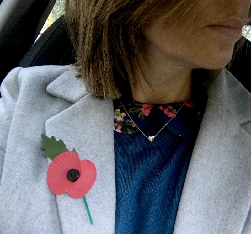 poppy-wearing