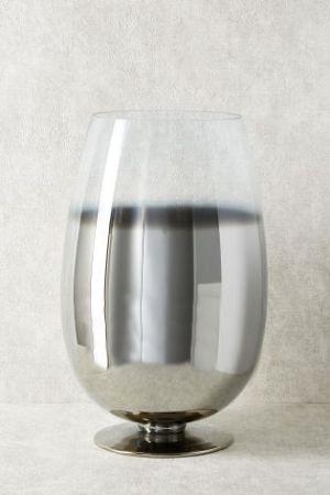 Ombre Silver Vase