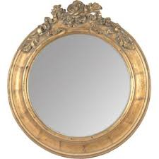 Shabby Ornate Mirror