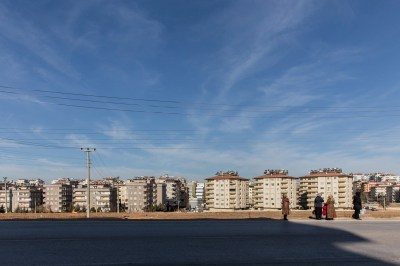 View from a neighborhood in Gaziantep in which many Syrians are currently living, by Mieke Strand