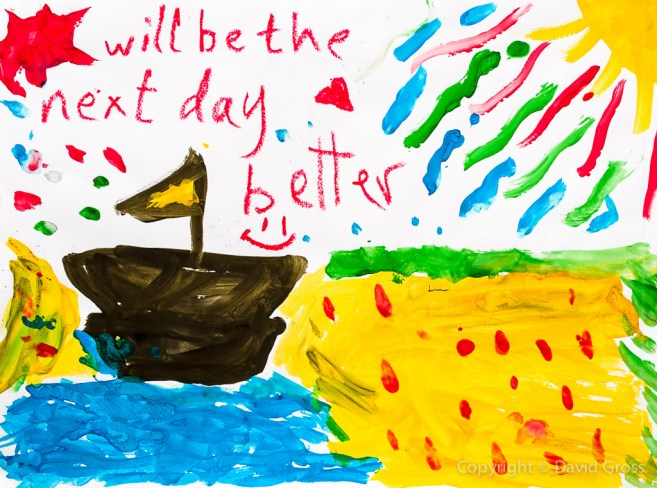 Drawing by Syrian Refugee Child