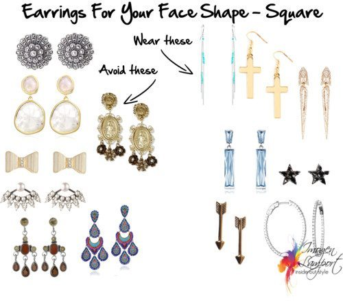 Earrings For Your Face Shape Square