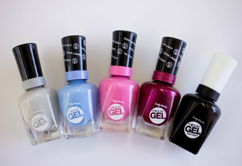 Miracle Gel Nail Polish By Sally Hansen Road Test And Review
