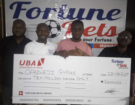 Related image LAUTECH Student Wins N10m In Online Sport Bet LAUTECH Student Wins N10m In Online Sport Bet Qudus Lautech Bet company