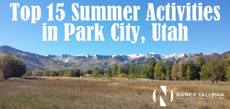 Summer Activities in Park City